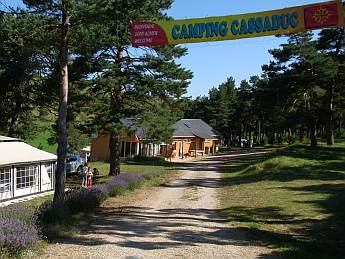The Camp-site entrance